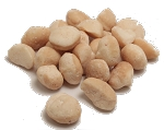 Macadamia Nuts, Organic, Raw, Shelled, Whole